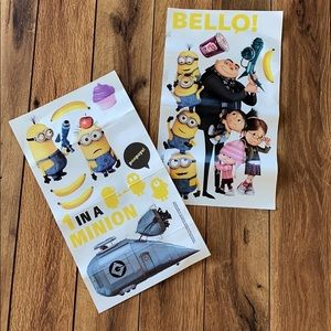 Despicable Me 2 Wall Decal Kids Room